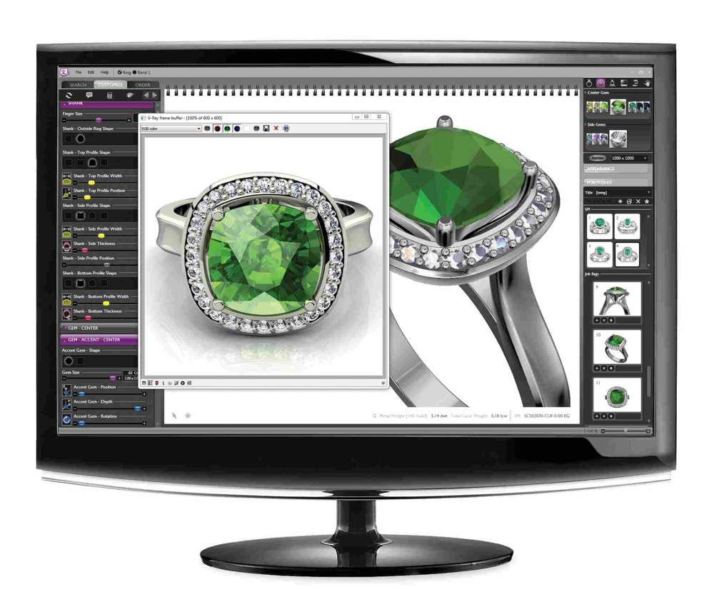 custom jewelry custom jewelry design 3d cad software